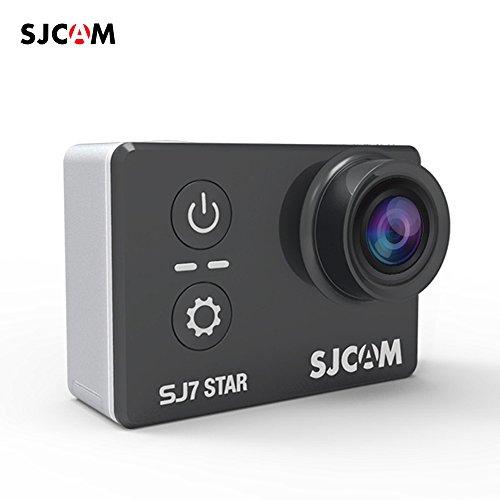 "Andoer SJCAM SJ7 K 4 ÉTOILES Action caméra 2.0"" LCD Touch Screen 1080P 120 fps & 720P 240 fps Full HD prunedecythère A12S75 16MP Wi-Fi Gyro anti-tremblement plongée étanche 30 m Sports DV Cam"