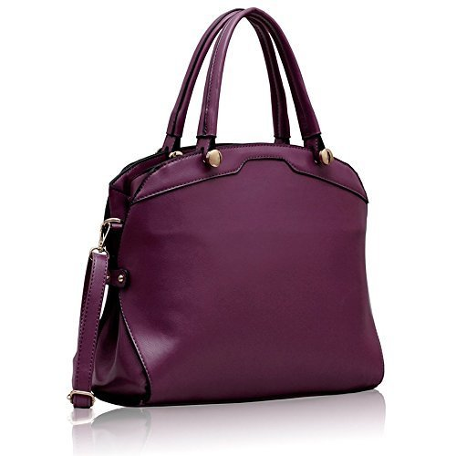 Most Wished 10 Purple Leather Handbags