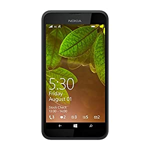 Nokia Lumia 530, UK SIM-Free Smartphone - Dark Grey