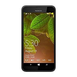 Nokia Lumia 530, UK SIM-Free Smartphone - Dark Grey