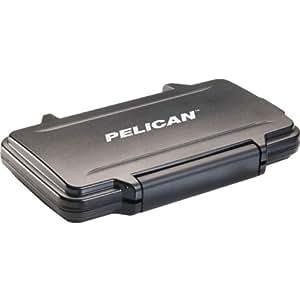 Pelican 0910-015-110 Memory Card Case - Polycarbonate - Black - 16 Memory Card