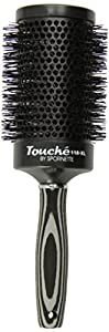 Spornette Touche Collection Nylon Hair Brush, Round, 3 1/2 Inch