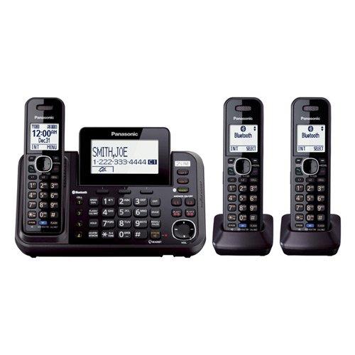 Panasonic Kx-Tg9543B 3-Handset Corded / Cordless (2 Line) Dect 6.0 1.9Ghz