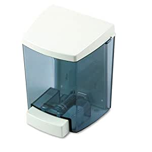 Impact 9330 White 30 Oz. ClearVu Encore Soap Dispenser