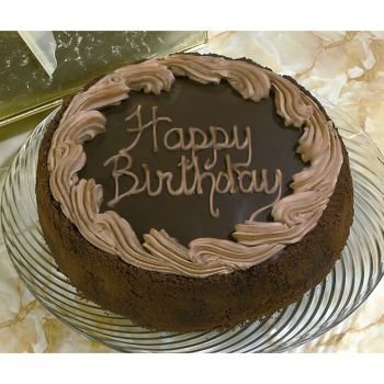 David's Cookies Chocolate Fudge Birthday Cake Kosher