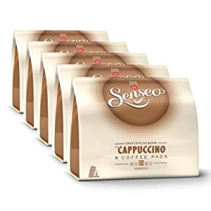 Choose Senseo Cappuccino, Design, Pack of 5, 5 x 8 Coffee Pods - Douwe Egberts