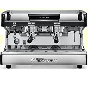 Simonelli Aurelia II Semi-automatic 2 Group Commercial Espresso Machine From Java Exotic Imports by Nuova Simonelli