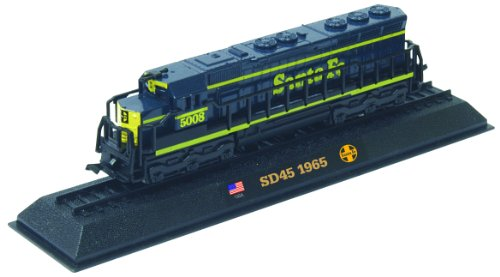 SD45 - 1965 diecast 1:160 scale locomotive model (Amercom LN-9) - 1