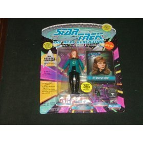 Star Trek the Next Generation Dr. Beverly Crusher with Silver Accesories