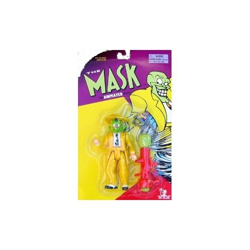The Mask Animated Series Wild Wolf Mask Action Figure - 1