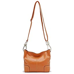 Tosca Classic Small Cross-body Handbag (Dark Orange)