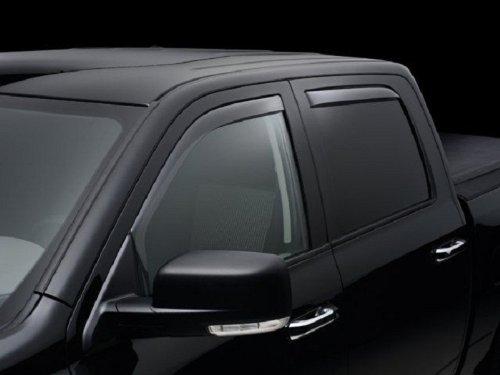 Light Grey Outside Mount Visor Rain Guard 4pcs For Toyota Avalon Sedan 1995-2000