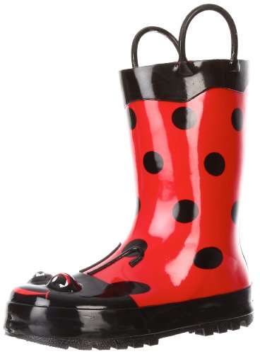 Western Chief Ladybug Rain Boot (Toddler/Little Kid/Big Kid),Red,6 M Us Toddler front-985058
