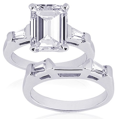 75 ct emerald cut 3 three engagement