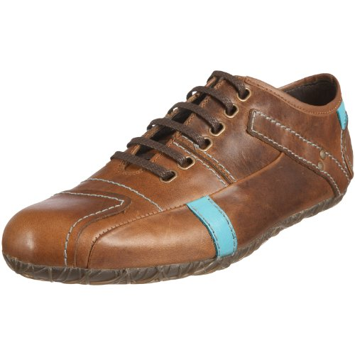 Fly London Men's Scamp Camel/Turquiose Trainer P141680000 7 UK