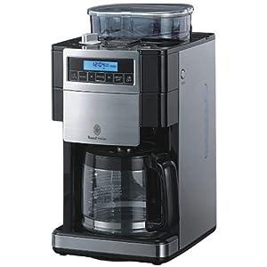 russell hobbs platinum filter kaffeemaschine mit mahlwerk. Black Bedroom Furniture Sets. Home Design Ideas