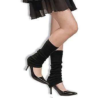 Forum Novelties 63166F Black Leg Warmers
