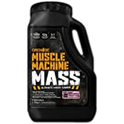 Grenade Muscle Machine Mass Ultimate Mass Gainer 2.25kg Strawberry Cream