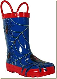 Western Chief Spider Rain Boot (Toddler/Little Kid/Big Kid),Blue,5 M US Toddler