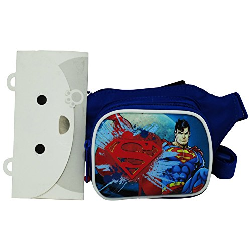 Official Dc Comics Superman Waist Pack / Bum Bag