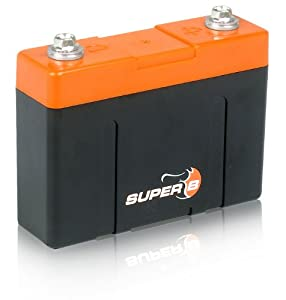 Super B 2600 12 volt Lithium Ion (LiFePO4) Starting Battery