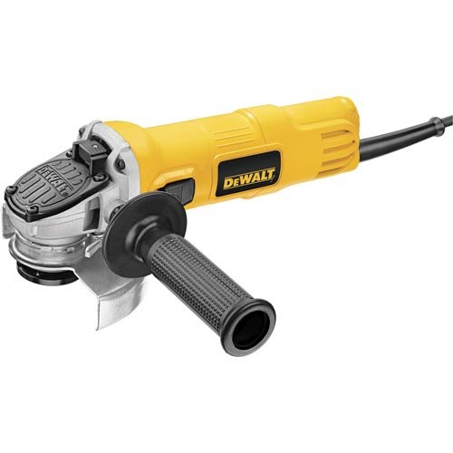 DEWALT DWE4011 4-1/2-Inch Small Angle Grinder with One-Touch Guard