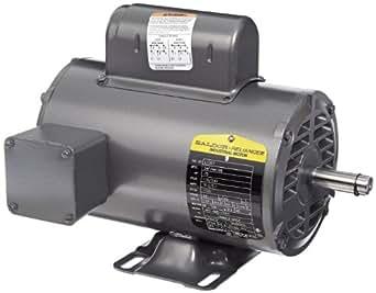 Baldor l1307 general purpose ac motor single phase 56 for Baldor permanent magnet motors