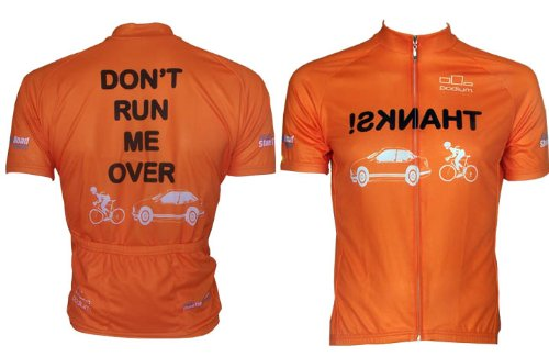 Buy Low Price Don't Run Me Over 3.0 Cycling Jersey (B005J6BFZY)