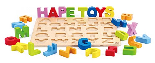 Alphabet Wooden Stand Up Puzzle