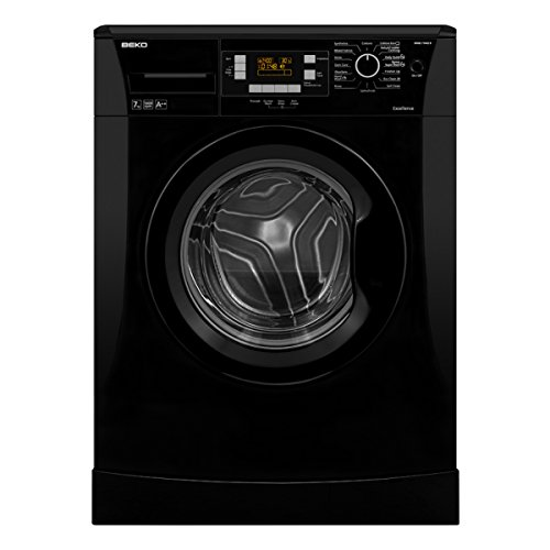 Beko WMB714422B A++ 7kg 1400rpm Washing Machine in Black