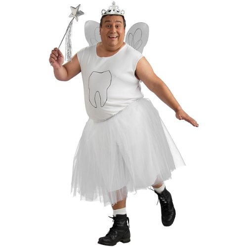 Tooth Fairy Costume - Plus Size - Chest Size 48-53