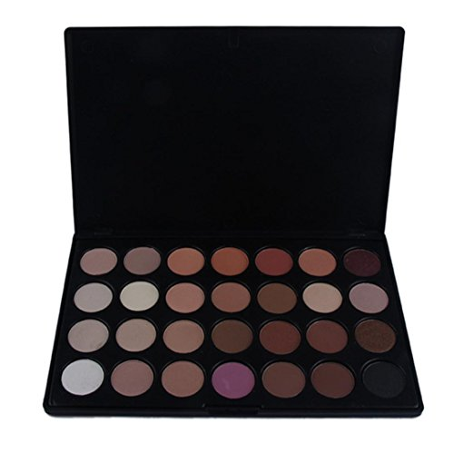 Fheaven Pro 28 Color Neutral Warm Eyeshadow Palette Eye Shadow Makeup Cosmetics