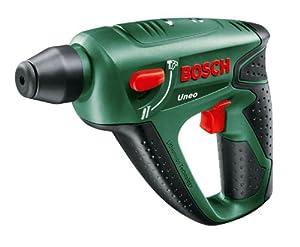 Bosch Uneo AkkuBohrhammer Easy + 2 Bohrer + 4 Bits + Akku und Ladegerät + Koffer (14,4 V, max. BohrØ Beton 10 mm, 1,1 kg)  BaumarktKundenbewertung und Beschreibung