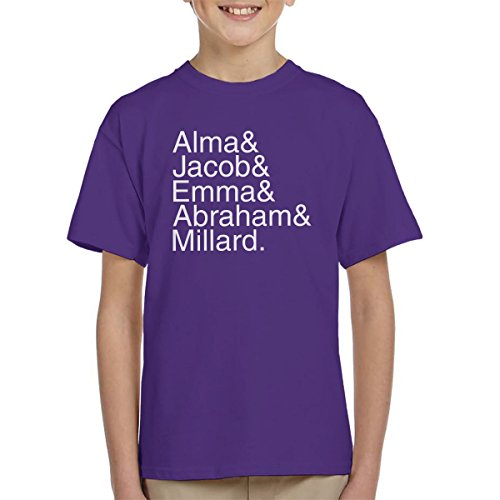 Character Names Miss Peregrine's Home for Peculiar Children White Kid's T-Shirt