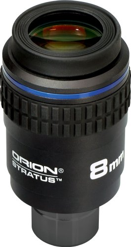 Oculaire pour télescope grand champ 8 mm Orion Stratus
