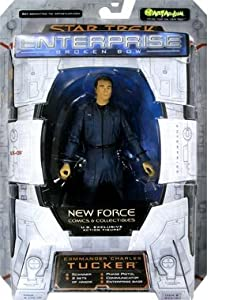 Commander Charles Tucker Figure Star Trek Enterprise Broken Bow