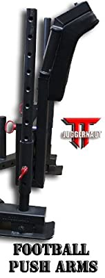 """The JUGGERNAUT"" CFF ""Pro Series Elite"" Heavy Duty Push/Pull Sled w/a 1650 lb Capacity, Adjustable Slide Arm and Football Push - Great for cross training, MMA, Broxing"