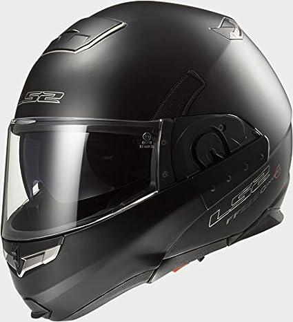 LS2 FF393 Convert Matt Black Motorcycle Helmet
