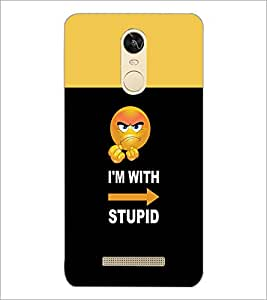 PrintDhaba Quote D-4055 Back Case Cover for XIAOMI REDMI NOTE 3 (Multi-Coloured)
