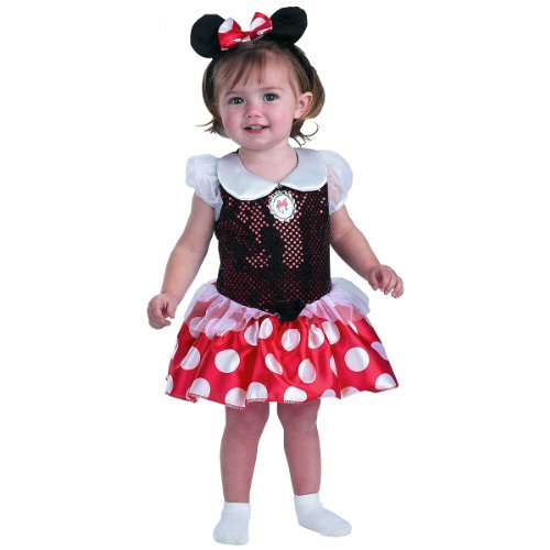 Toddler Minnie Mouse Dress front-4368