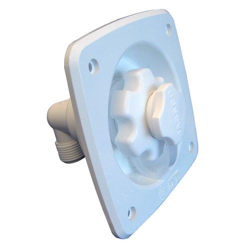 1 - Jabsco Flush Mount Water Pressure Regulator 45psi - White