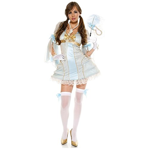 [GSG Ballroom Lady Costume Adult Halloween Fancy Dress] (Ballroom Costume For Men)