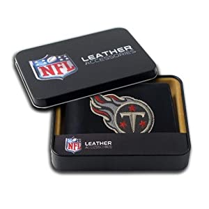 Tennessee Titans Embroidered Leather Bi-Fold Wallet by Rico