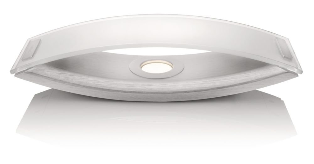 Philips InStyle LED-Tischleuchte Ponte 1-flammig dimmbar 6 W, aluminium lackiert 373664816