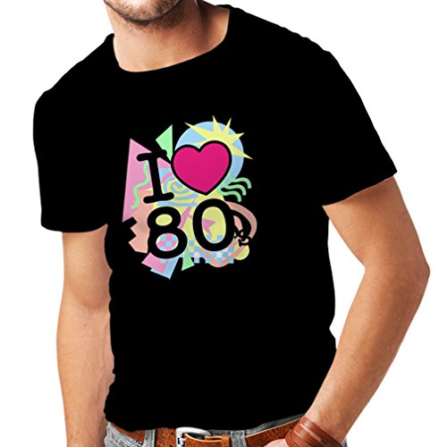 n4331 m nner t shirt ich liebe 80er jahre xxxxx large. Black Bedroom Furniture Sets. Home Design Ideas