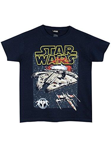 Star Wars Boys Millennium Falcon T-Shirt 0