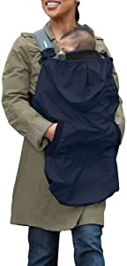 Infantino Hoodie Universal Rain Carrier Cover Navy Blue