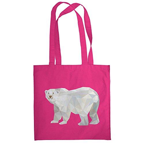 texlab-poly-polar-bear-stoffbeutel-pink