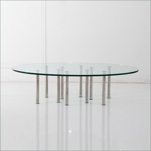 Oval Coffee Table With Metal Legs: Buy Low Price Rome Oval Coffee Table With 10 Stainless