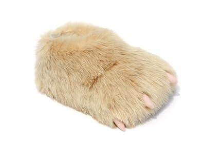 Monster Slippers Men's & Women's Novelty Yeti Claw Animal Slippers 4.5 to 7 Medium